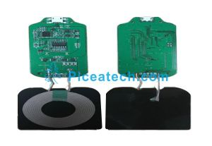 Qi PCBA DIY Wireless Charging Coil Charging Circuit Board pictures & photos