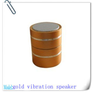 Orange FM Radio Vibration Speaker