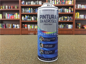 Empty Can for Aerosol Paint pictures & photos