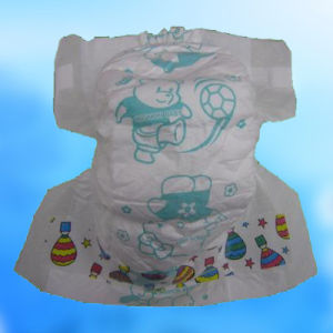 Leak Gaurd Cotton Disposable Baby Diaper in Bulk pictures & photos