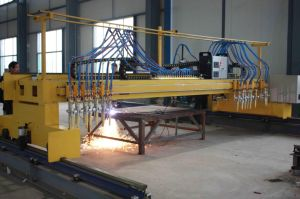 CNC Plasma and Flame Cutting Machine with 8 Strips pictures & photos