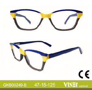 New Fashion Handmade Acetate Kids Optical Frames (249-B) pictures & photos