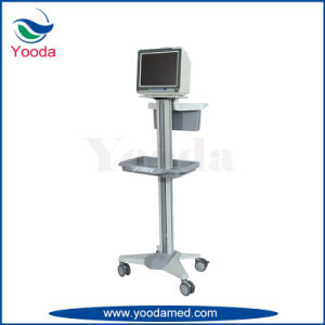 Height Adjustable Hospital Workstation Trolley pictures & photos