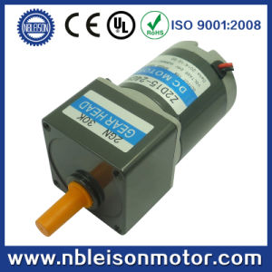 CE RoHS 15W 12V 24V DC Geared Motor (Z2D15) pictures & photos