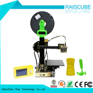 Rise High Precision Aluminum Digital Fdm Desktop DIY 3D Printing pictures & photos