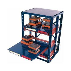 China Heavy Duty Drawer Type Mold Shelf For Warehouse