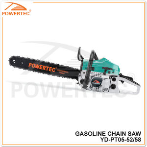 Powertec 52cc Gasoline Wood Cutting Saw (YD-PT05-52) pictures & photos