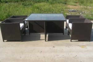 PE Rattan Outdoor/Indoor Garden Furniture/Meeting Furniture
