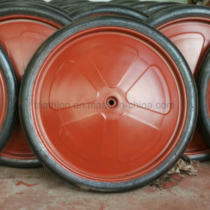 13X3 4.80/4.00-8 26 Inch Solid Rubber Wheel pictures & photos