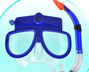 Scuba diving mask camera under water camera pictures & photos
