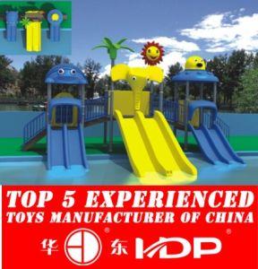 Children Playground Kids Outdoor Slides Machine (HD14-126A) pictures & photos