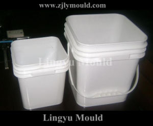 Plastic Injection Bucket Mold (LY160213)