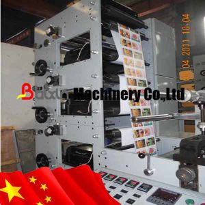 Rotary Die Cutting Flexo Printing Machine pictures & photos