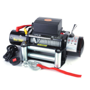 4x4 Electric Cable Winch 12000lb pictures & photos