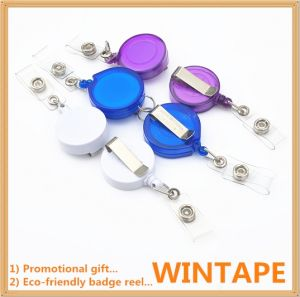 Power Return Promotional Key Yoyo Reel Badge From Our Factory with Professional Certification pictures & photos