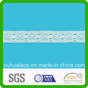 Fashion New Design 100% Cotton Crochet Fabric Lace