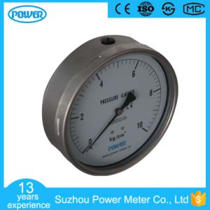 150mm Back Connection Stainless Steel Pressure Gauge pictures & photos