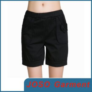 Women Black Leisure Shorts Trousers (JC6006) pictures & photos