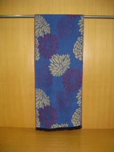 Men′s Fashion Big Flower Design Polyester Viscose Scarves pictures & photos