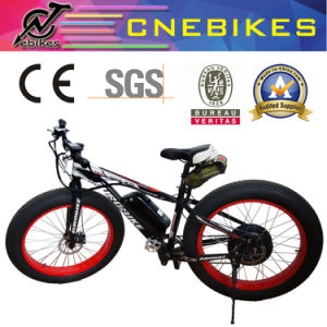 1000W Big Power Fat Tire Electric Bike/Snow Ebike/Electric Beach Cruiser Bicycle pictures & photos