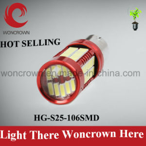 Powerful Factory Price S25 Auto LED Bulbs Brake Lights pictures & photos