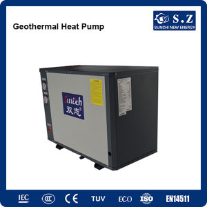 -25c Area Winter 120sq Meter House Heating 10kw/220V by -15c Glycol Circle Loop Ground Source Heat Pump Geothermal Water Heater pictures & photos