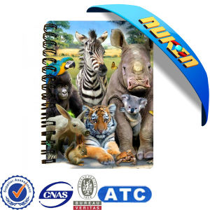 2015 Good Quality Custom 3D Notebook pictures & photos