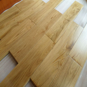 Low Price Natural White Oak Timber Engineered Wood Flooring pictures & photos