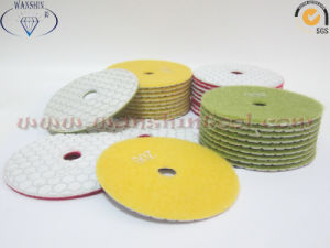 White Polishing Pad Dry Use Diamond Tool pictures & photos