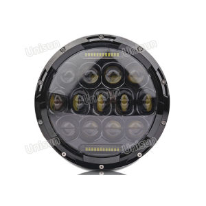 12V/24V 75W Offroad for Jeep LED Headlight with DRL pictures & photos