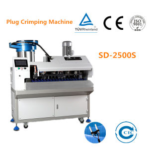 Automatic Power Cord Plug Crimping Machine pictures & photos