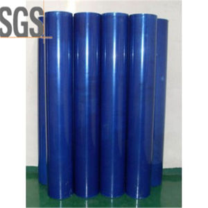 70mic Clear Plastic Stretch Film LDPE Blue Protective Film pictures & photos