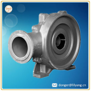 Sand Casting Grey Iron Pump Part, Suction Body pictures & photos