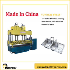 4 Pillars Hydraulic Press with High Rigidity pictures & photos