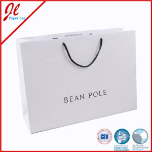 Shopping Carrier with Custom Printing and Rope Handle Luxury Gift Paper Bags pictures & photos