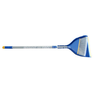 Plastic Long Handle Broom & Dustpan Set pictures & photos