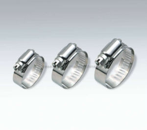 Anerican Type Stainless Steel Hose Clamps pictures & photos