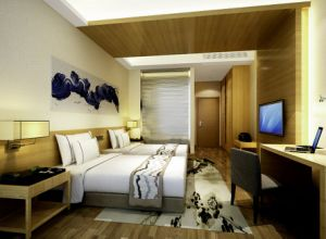 Hotel furniture Hotel Bedroom Furniture of Double Room pictures & photos