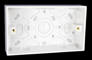 25mm Double Moulded Surface Box/Pattress (Y810)
