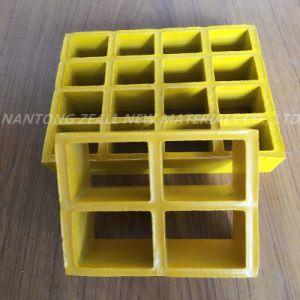 Stronger FRP Grating with Open Mesh