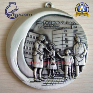 Factory 3D Medaillen with Antique Finish, Cusotmized Sport Medal pictures & photos