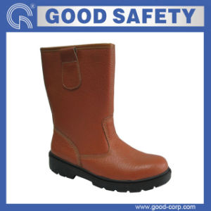 Industrial Safety Rigger Boots with Split Leather (GSI-313)