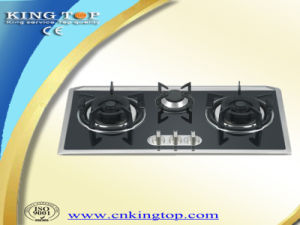 Tempered Glass Panel LNG Inlaid Gas Hob pictures & photos