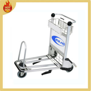 Aluminum Handle Brake Airport Trolley (LG4J) pictures & photos