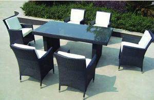 Rattan Furniture Dining Set  (PRF--9105)
