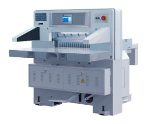 Full Hydraulic Energy-Saving Paper Cutter (MQZK813) pictures & photos