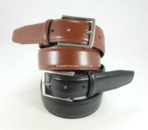 Classic Men Leather Belt with Nickel-Free Buckle (EU27-33) pictures & photos