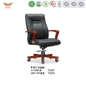 Office Furniture Wooden Office Chair (B-221) pictures & photos