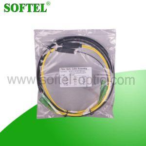 Sc/APC Connector Duplex Patch Cord in Fiber Optic pictures & photos