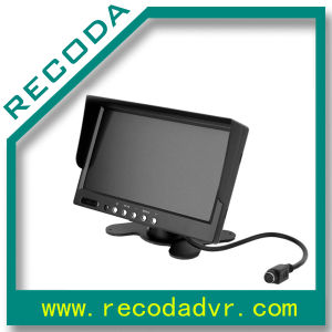 7 Inch Car Rearview LCD Monitor With Sun Shield pictures & photos